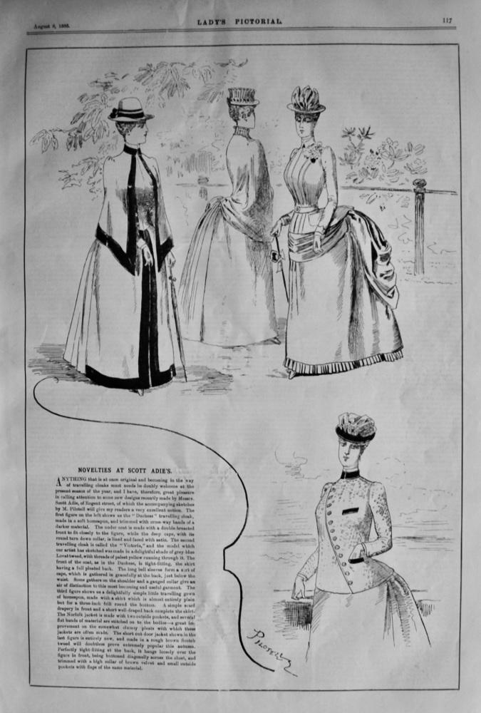 Novelties at Scott Adie's.  1858.