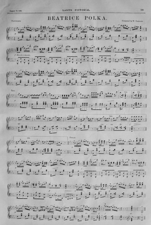 Beatrice Polka.  1885.