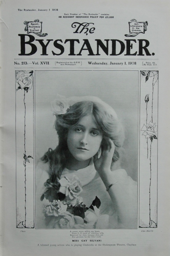 The Bystander - January 1, 1908