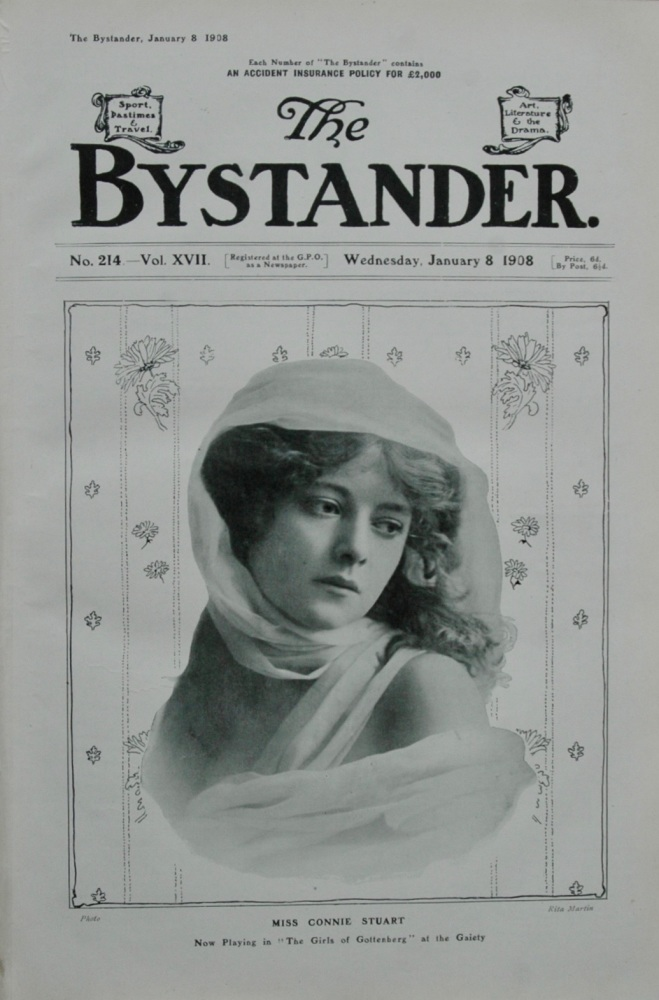 The Bystander - January 8, 1908