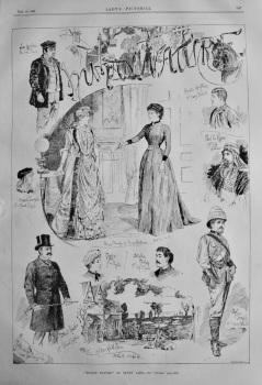 """""""Human Nature"""" at Drury Lane.  1885."""