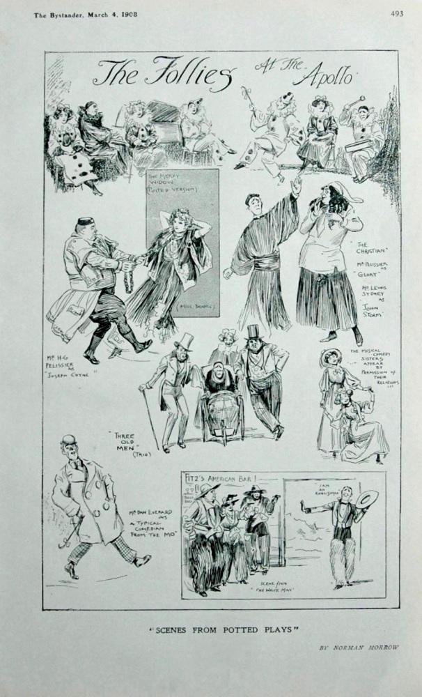 The Follies at the Apollo. 1908.