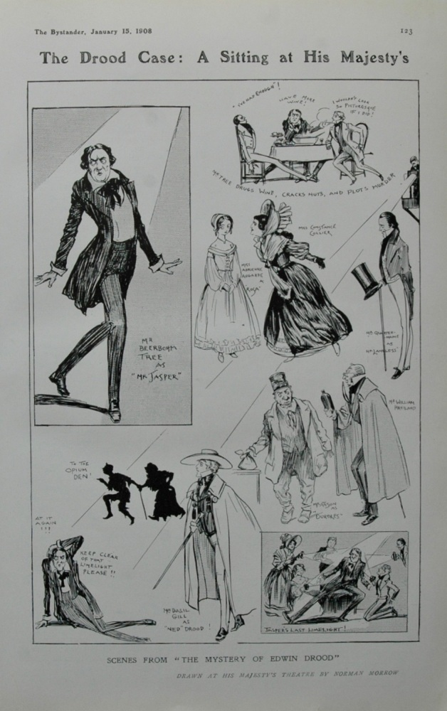 Scenes from The Drood Case: at His Majesty's
