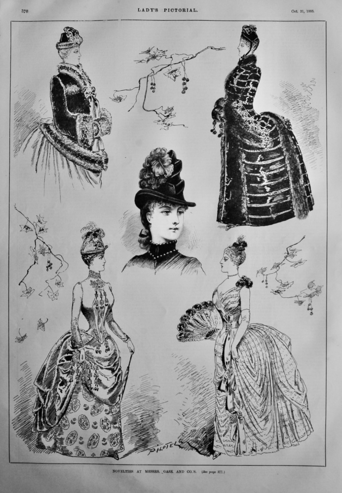 Novelties at Messrs. Gask and Co.'s.  1885.