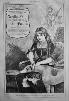 Needham's Polishing Paste.  1885.