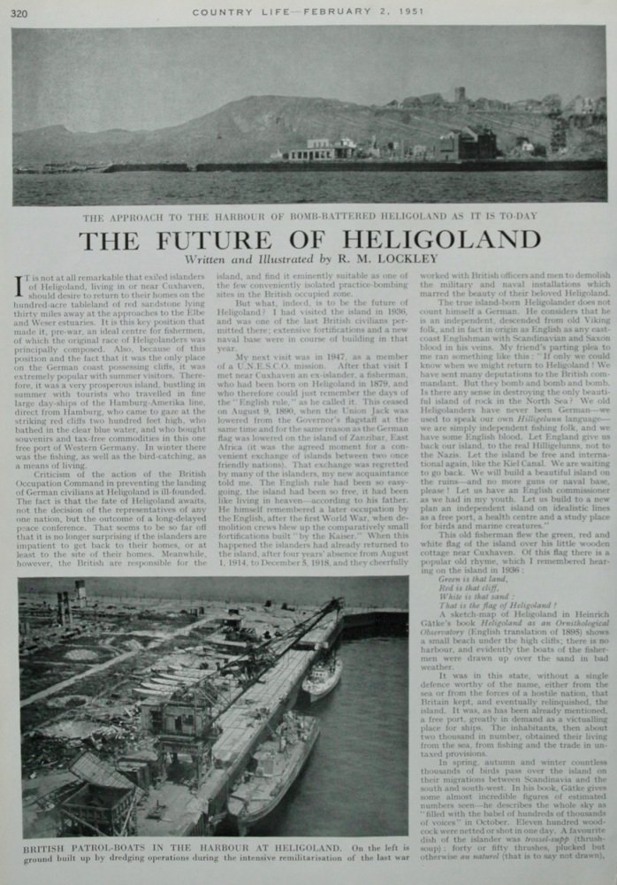 The Future of Heligoland