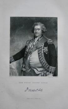 Adam Duncan.  Viscount Duncan.  1831.