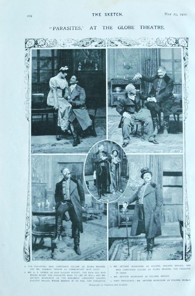 """Parasites"", at the Globe Theatre"