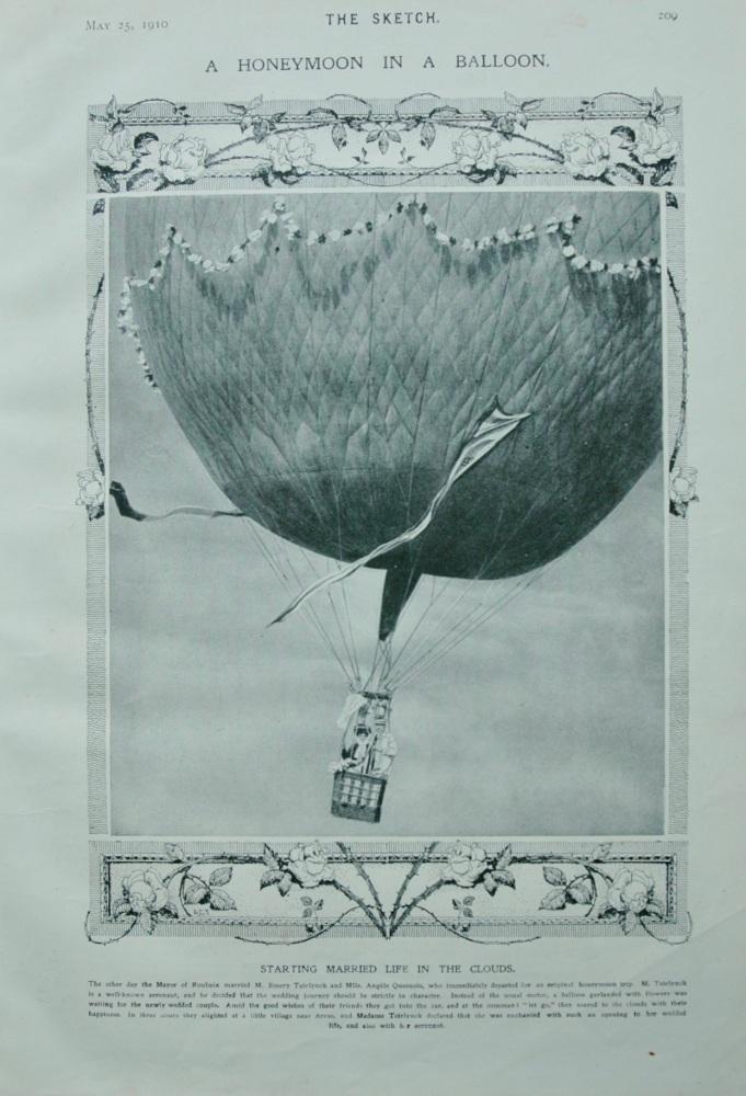 A Honeymoon in a Balloon