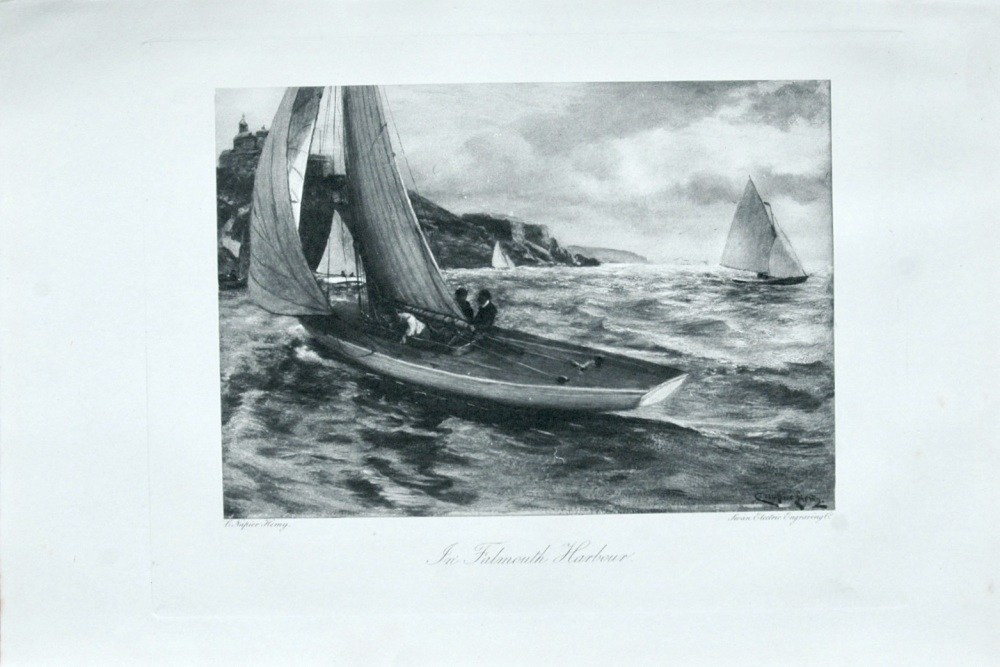 In Falmouth Harbour - 1898