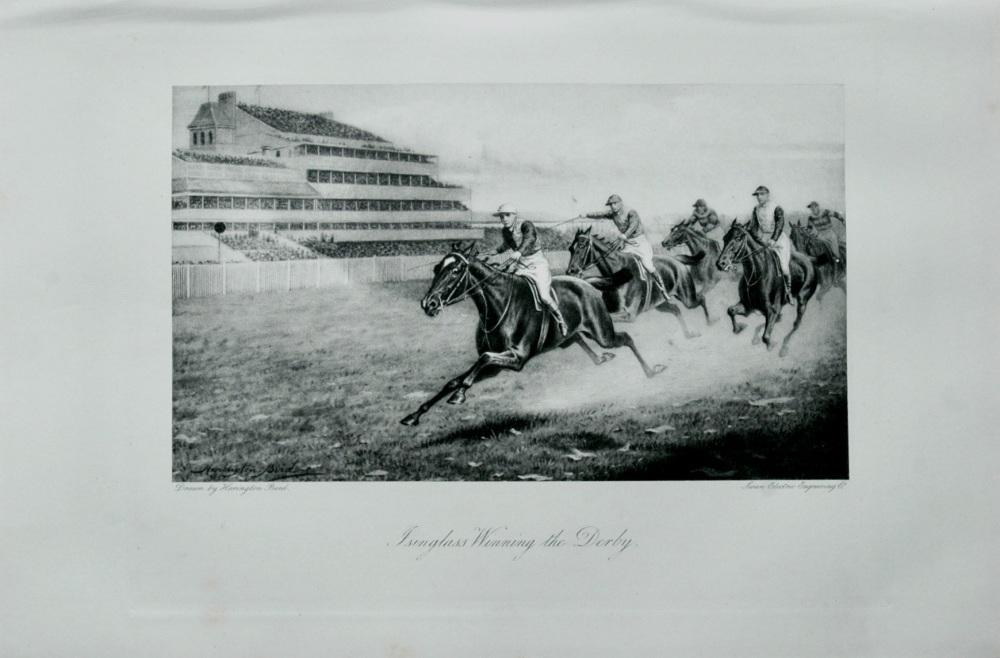 Isinglass Winning the Derby - 1898