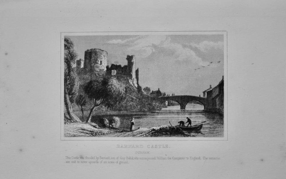 Barnard Castle. Durham.  1845.