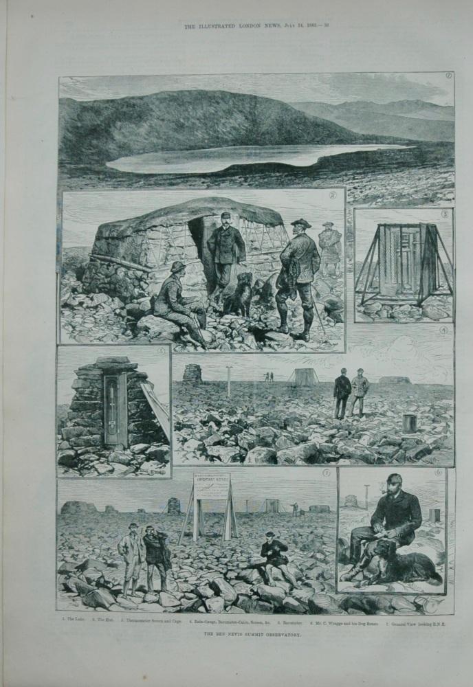 The Ben Nevis Summit Observatory - 1883