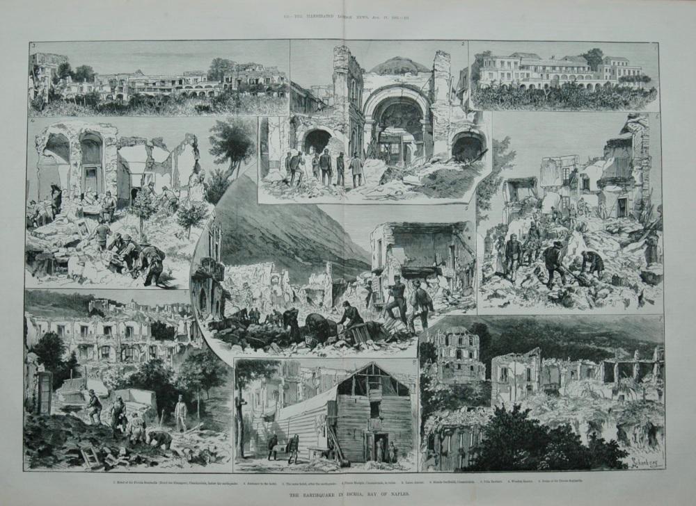 The Earthquake in Ischia, 1883