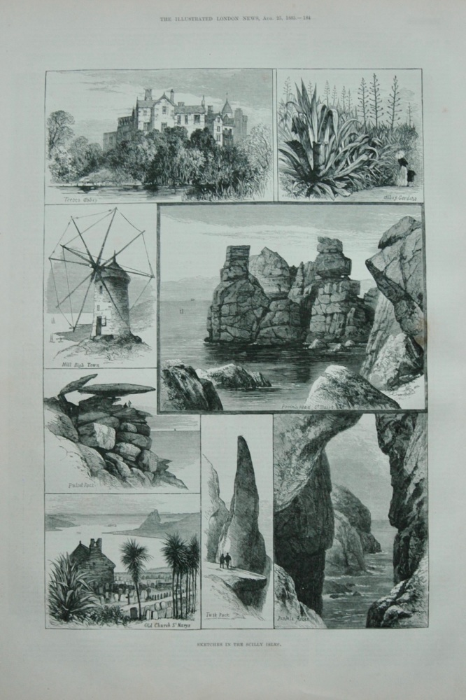 Sketches in the Scilly Isles.- 1883.