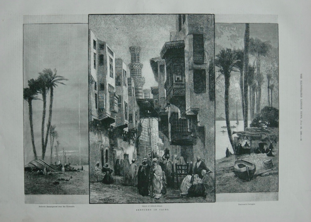 Sketches in Cairo - 1883