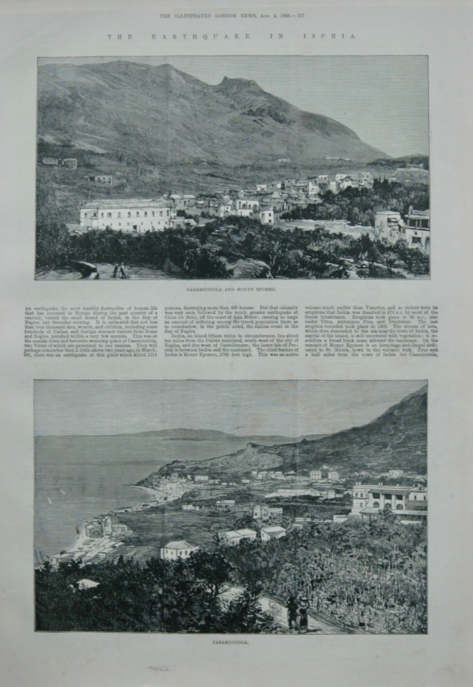 The Earthquake in Ischia