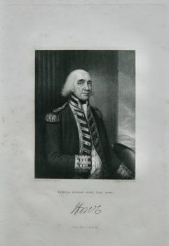 Admiral Richard Howe,  Earl Howe.  1832.