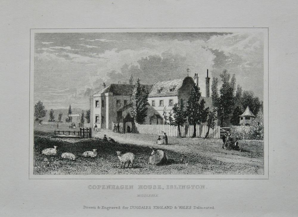 Copenhagen House, Islington.  Middlesex.   1845.