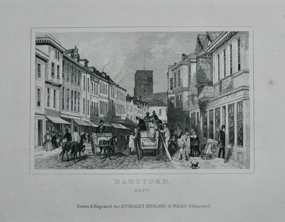 Dartford. Kent.  1845.