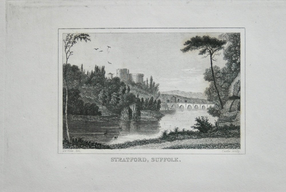 Stratford,  Suffolk.  1845.