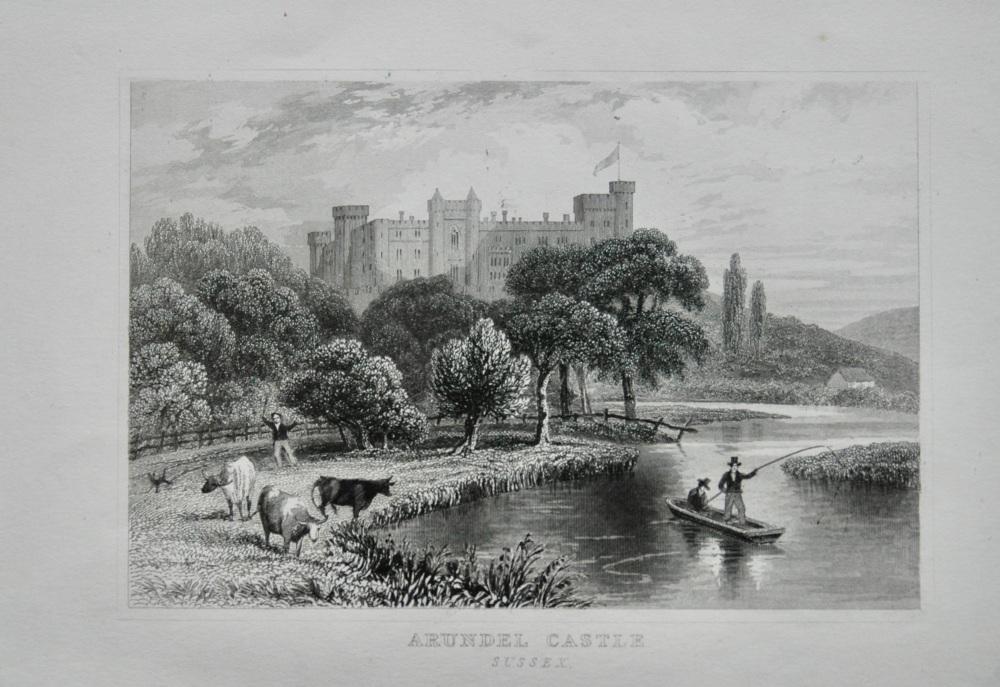 Arundel Castle.  Sussex.  1845.