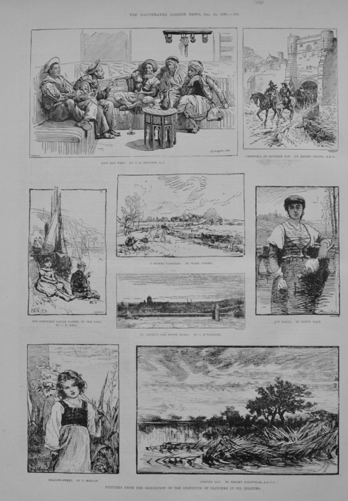 Institute of Painters Exhibition - 1883