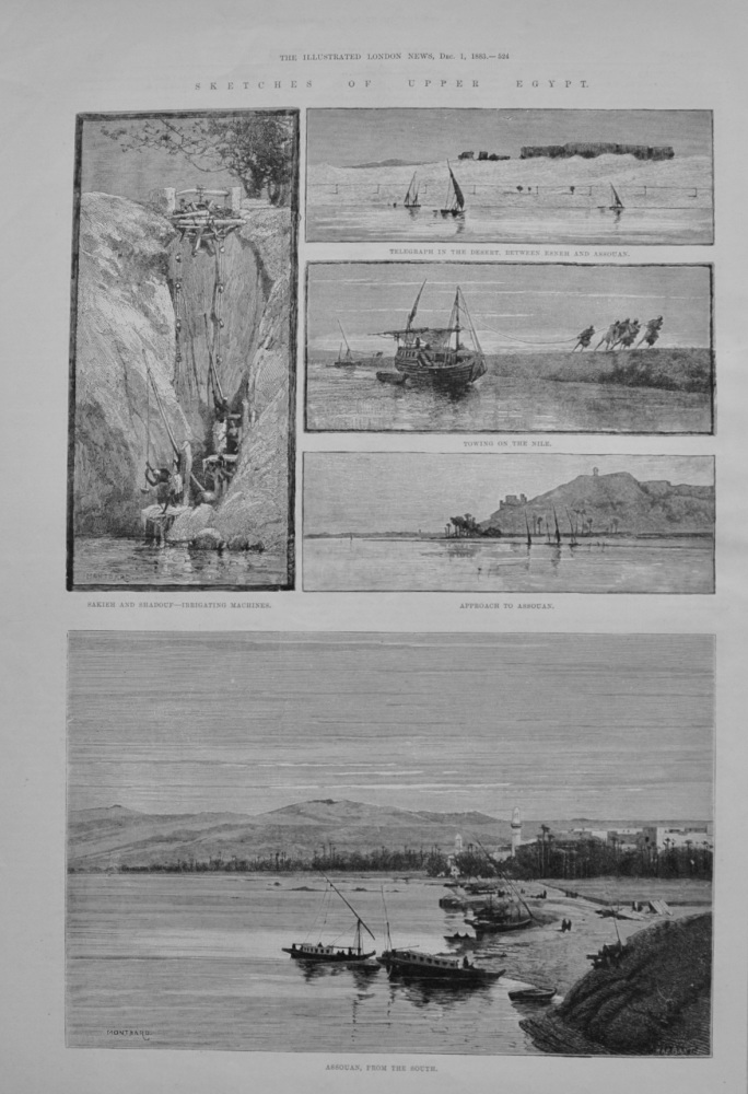Sketches of Upper Egypt - 1883