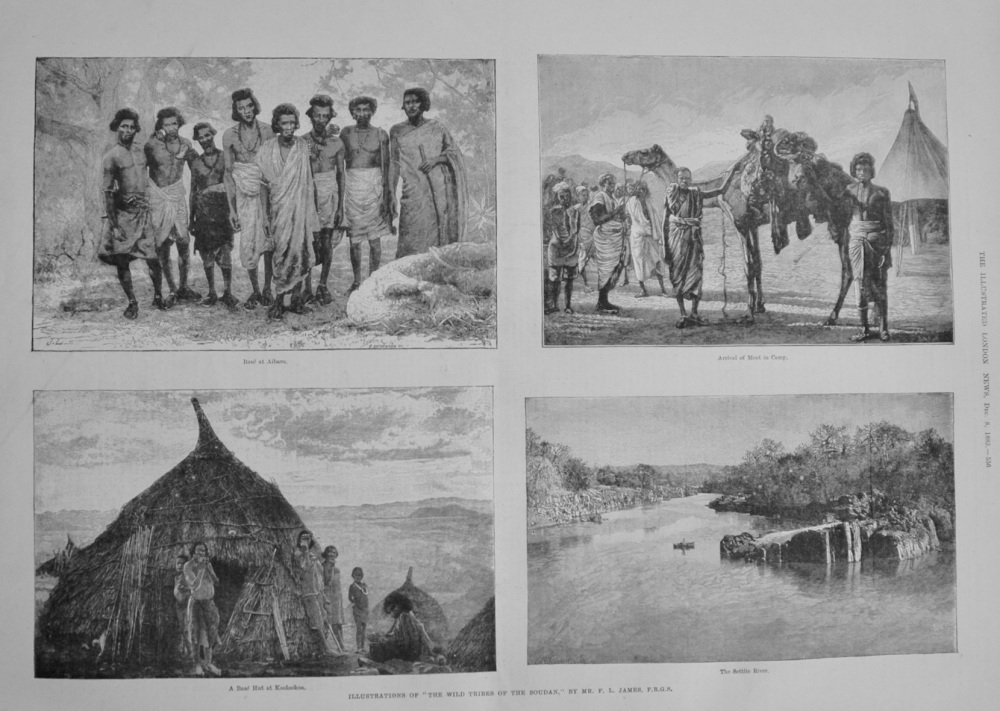 The Wild Tribes of the Sudan - 1883