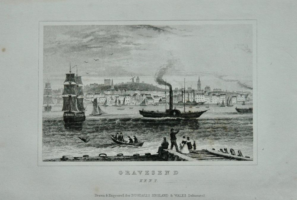 Gravesend. Kent.  1845.