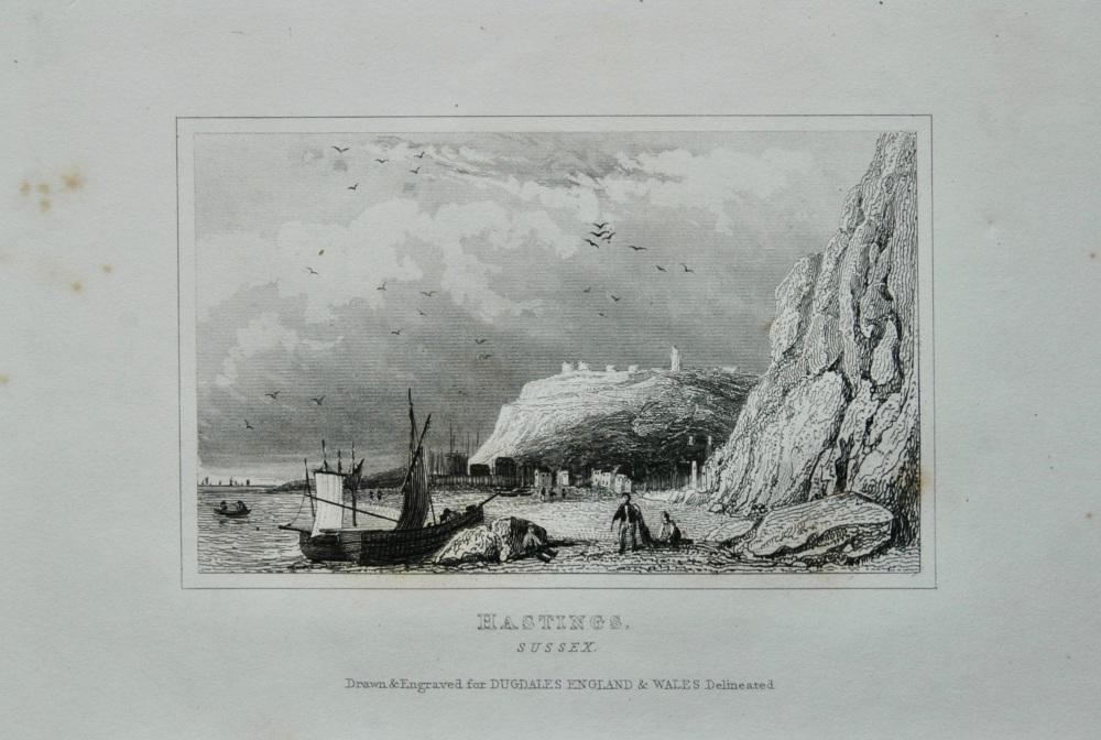Hastings. Sussex. 1845.