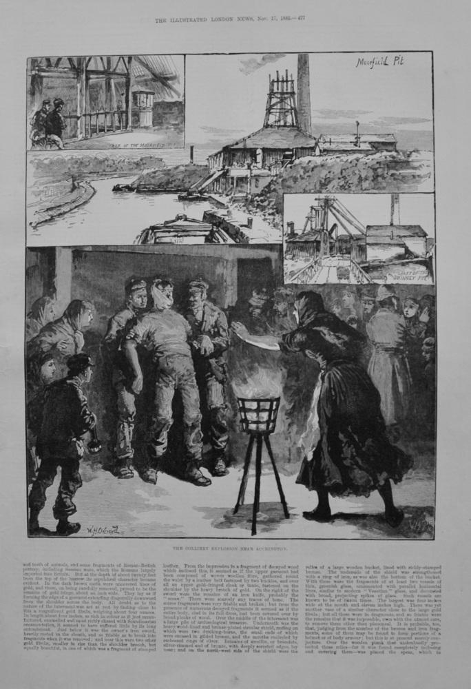 Accrington Colliery Explosion - 1883
