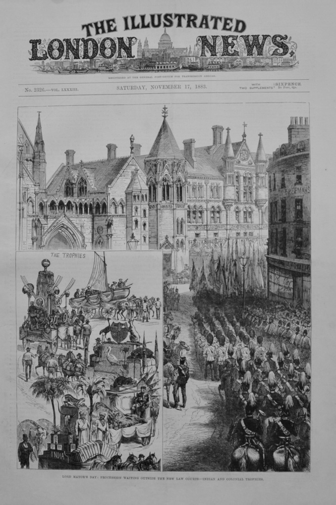 The Lord Mayor's Day - 1883