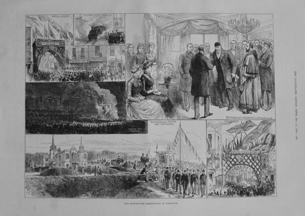 Montefiore Celebration at Ramsgate - 1883