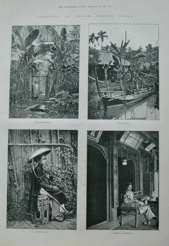 Sketches of Annam - 1883