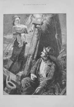 """A Cheering Gleam"" - 1883"