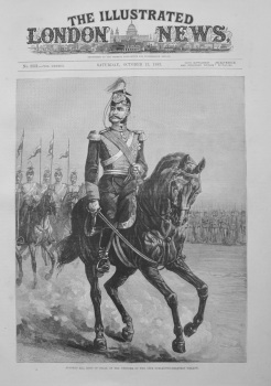 """""""Alfonso XII, King of Spain"""" 1883"""