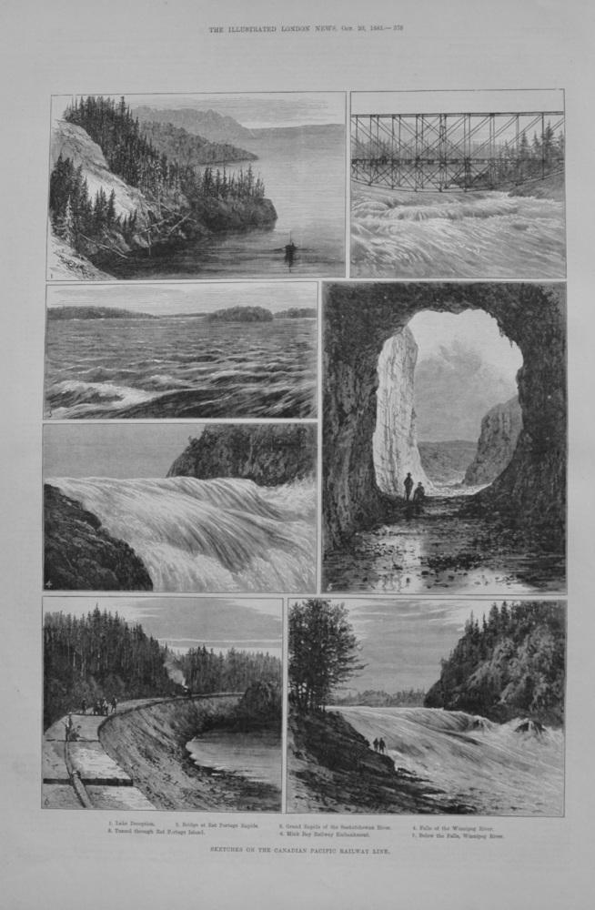 Canadian Pacific Railway - 1883