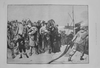 """After a rough passage"" - 1883"