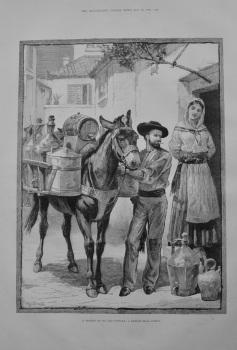 """A Vendor of Oil and Vinegar"" - 1883"