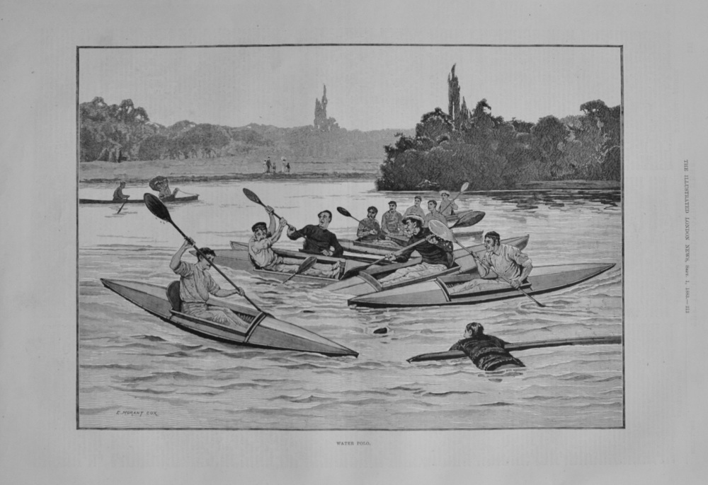 """""""Water Polo"""" - 1883"""