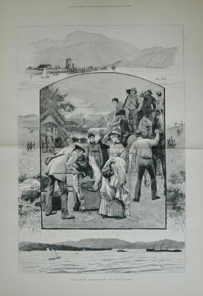 """""""Holiday Rambles in Scotland"""" - 1883"""