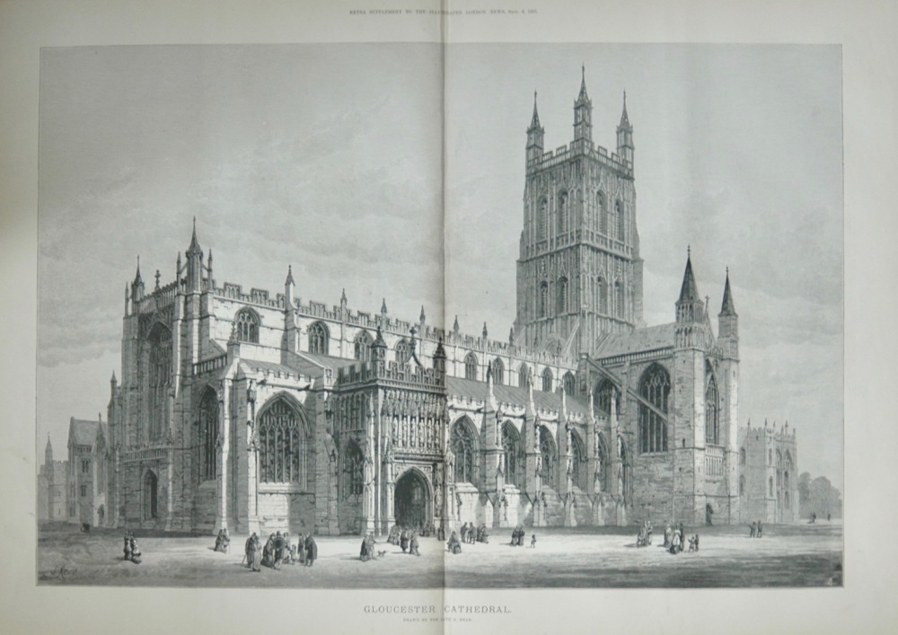 """Gloucester Cathedral"" - 1883"