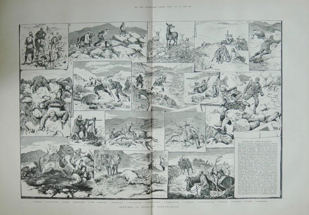 Highland Deer Stalking - 1883