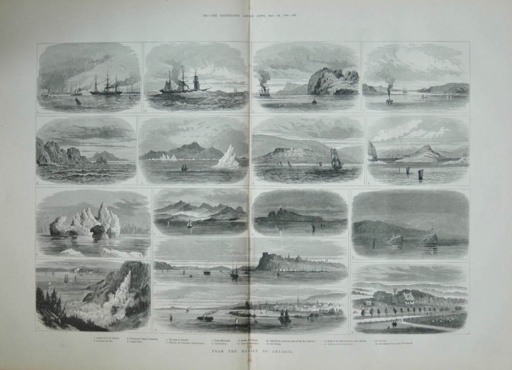 From the Mersey to Ontario - 1883