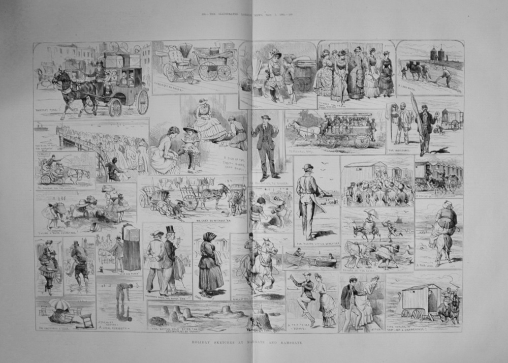 Holidays at Margate and Ramsgate - 1883