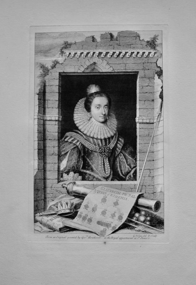 Elisabeth Pr. Pal : & Queen of Bohemia.  1736.