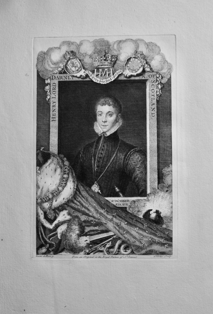 Henry Lord Darnly King of Scotland.  1736