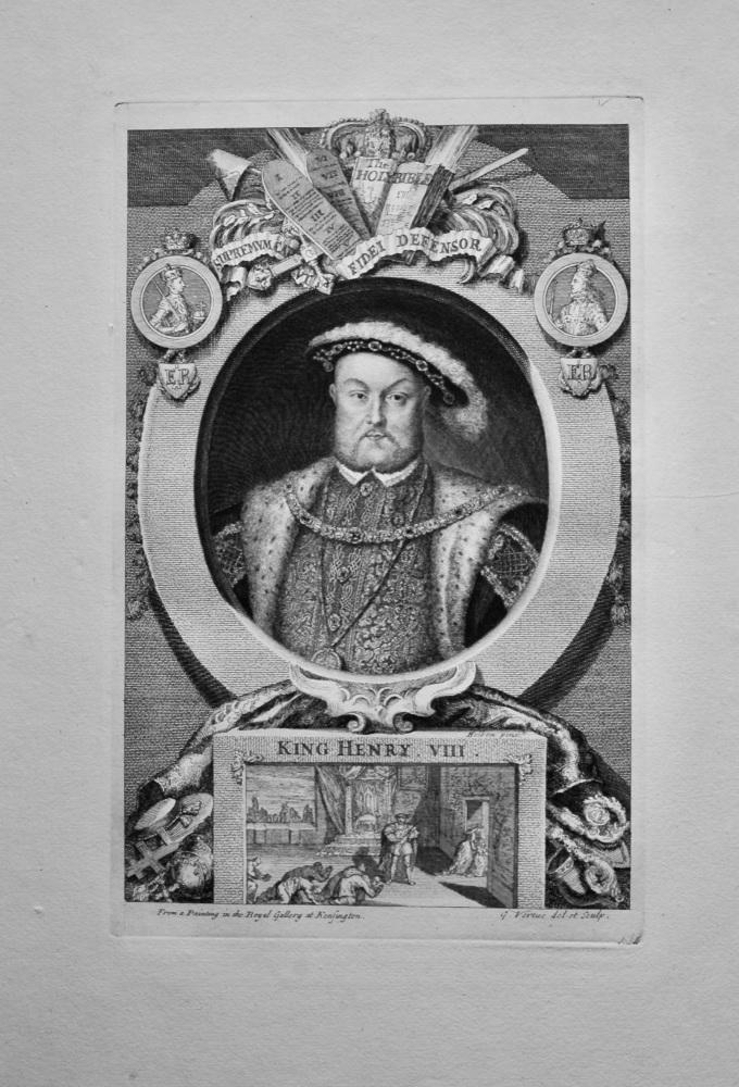 King Henry VIII.  1736.