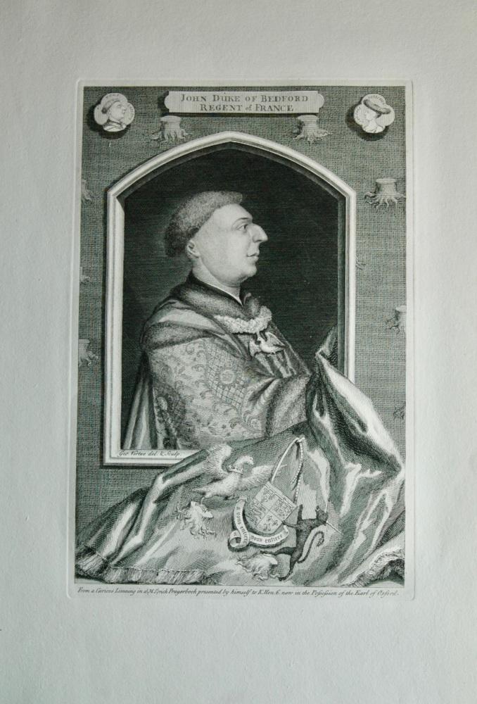 John Duke of Bedford, Regent of France.  1736.